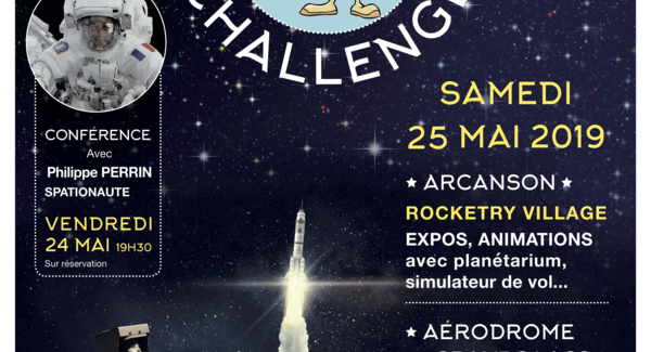 Lg hd affiche rocketry challenge 2019